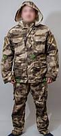 Костюм камуфляжный A-TACS (куртка-брюки) весна-лето, ткань рипстоп, размер 46-62,
