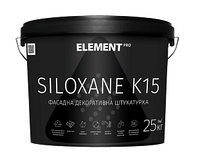 ELEMENT PRO SILOXANE K15 25 кг Прозрачная акриловая декоративная штукатурка