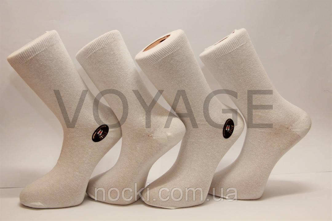 Хлопковые мужские носки STYLE , кеттельный шов, усиленные пятка и носок