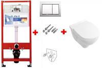 Инсталляция TECEbase kit комплект с унитазом O.Novo (soft close)