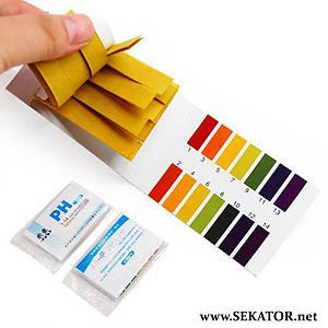 Лакмусовий папір на 80 смужок (pH 1-14)