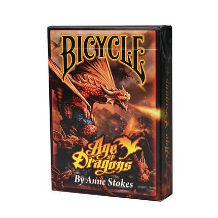 Карты игральные   Bicycle Age of Dragons, фото 2