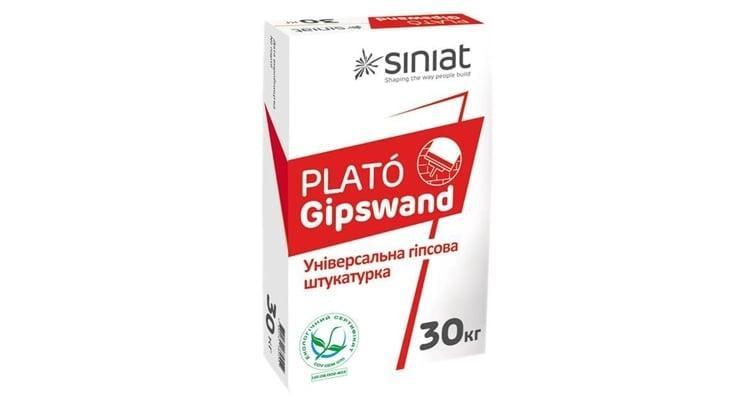 Штукатурка гипсовя универсальная Plato Gipswand