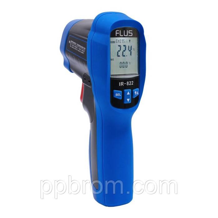 """Пирометр с термопарой Flus """"IR-822"""" (-50...1050°C, 30:1, 0.1-1)"""