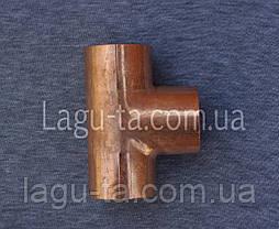 Тройник медный 42 мм, фото 3