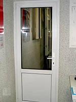 Міжкімнатні металопластикові двері ПВХ