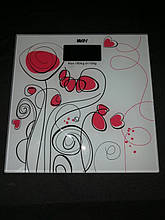 Стильные напольные весы Bathroom Scale 180 кг