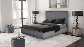 М'яке ліжко з високим узголів'ям Промо з підйомним механізмом Novelty, оббивка на вибір