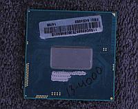 Процессор Intel Core i3-4000M SR1HC socket G3 Haswell 4 / 2.4GHz / 3MB / 37W / HD Graphics 4600