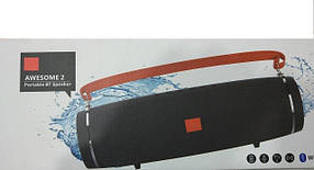 Портативная колонка  акустическая перносная мобильная JBL Awesome 2 CY-35 (12)(реплека), фото 2