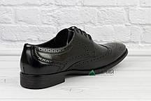 Туфлі чоловічі броги - Тренд 2019р! 40-45р, фото 2