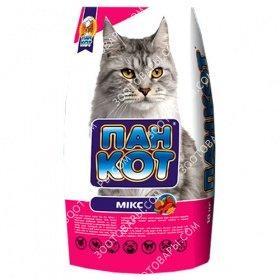 ПАН КОТ MИКС, Сухой корм для кошек, 10 кг