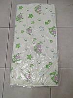 Матрас в детскую кроватку трехслойный КПК (кокос-поролон-кокос)