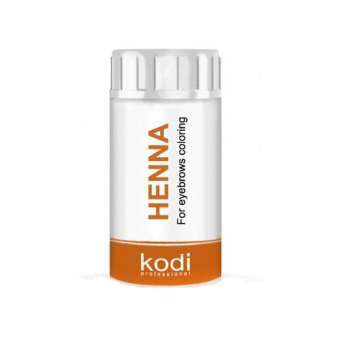 Хна для окрашивания бровей (цвет темный шоколад) 5 гр Kodi