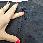 Черный стрейч лоскуты 3шт-67см*22см+1 шт - 36см*22см, фото 2