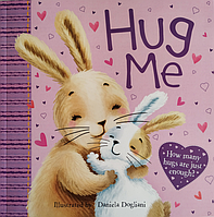 Книга на английском языке для детей Hug Me