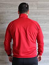 Кофта спортивная мужская Nike красная реплика, фото 3