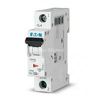 Автоматический выключатель 1-полюсный HL-C50/1 4,5кА 50А Eaton Moeller