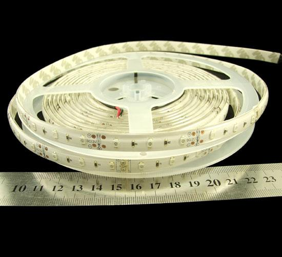 Светодиодная лента RISHANG 3528/60 6Вт 12В IP66 10мм Теплый белый 2700-330К