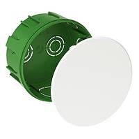 Коробка распределительная встраиваемая круглая IP30 104х50 бетон SchneiderElectric IMT35121