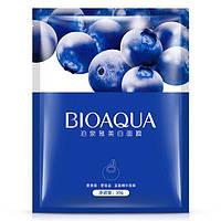 Увлажняющая маска для лица BioAqua с черникой