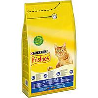 Friskies  1,5 кг для стерилизованных кошек и кастрированных котов