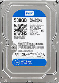 Жесткий диск  WD Seagate HITACHI 500Gb SATA ИДЕАЛ!