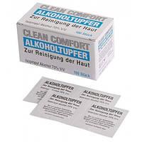 Салфетки для дезинфекции рук,  поверхностей и оборудования CLEAN COMFORT Ampri 100 шт