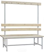 Скамейка в раздевалку 2-1500