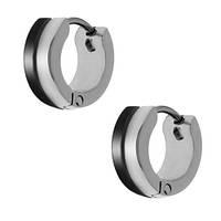 Серьги-кольца из медицинской стали унисекс 10 мм 101943