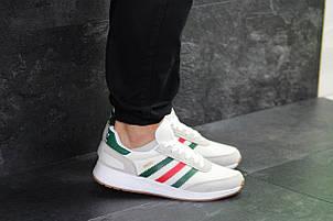 Мужские кроссовки Adidas Iniki,белые 44,45р, фото 2