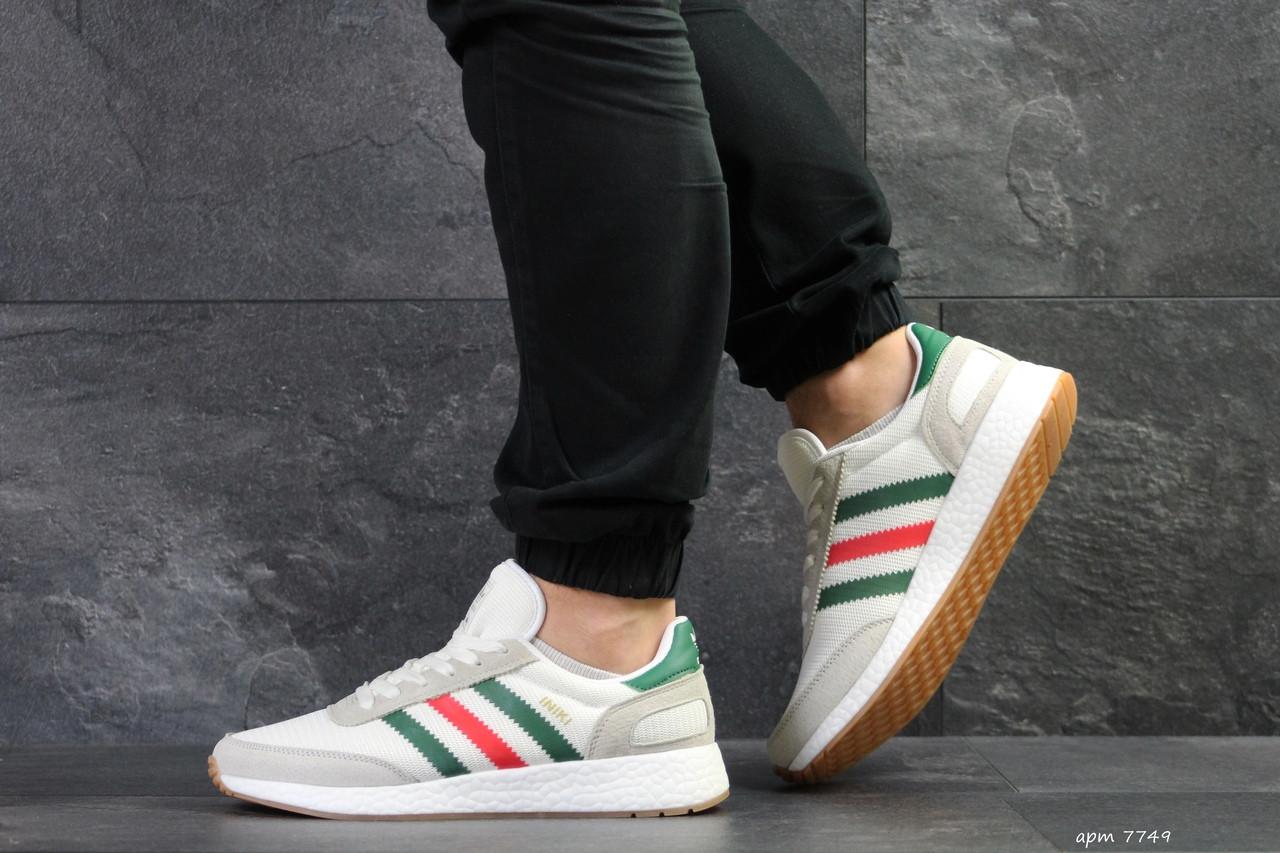 Мужские кроссовки Adidas Iniki,белые 44,45р