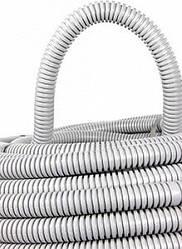 Труба гофрированная ПВХ с протяжкой 14/20 мм (100м), (E.Next)