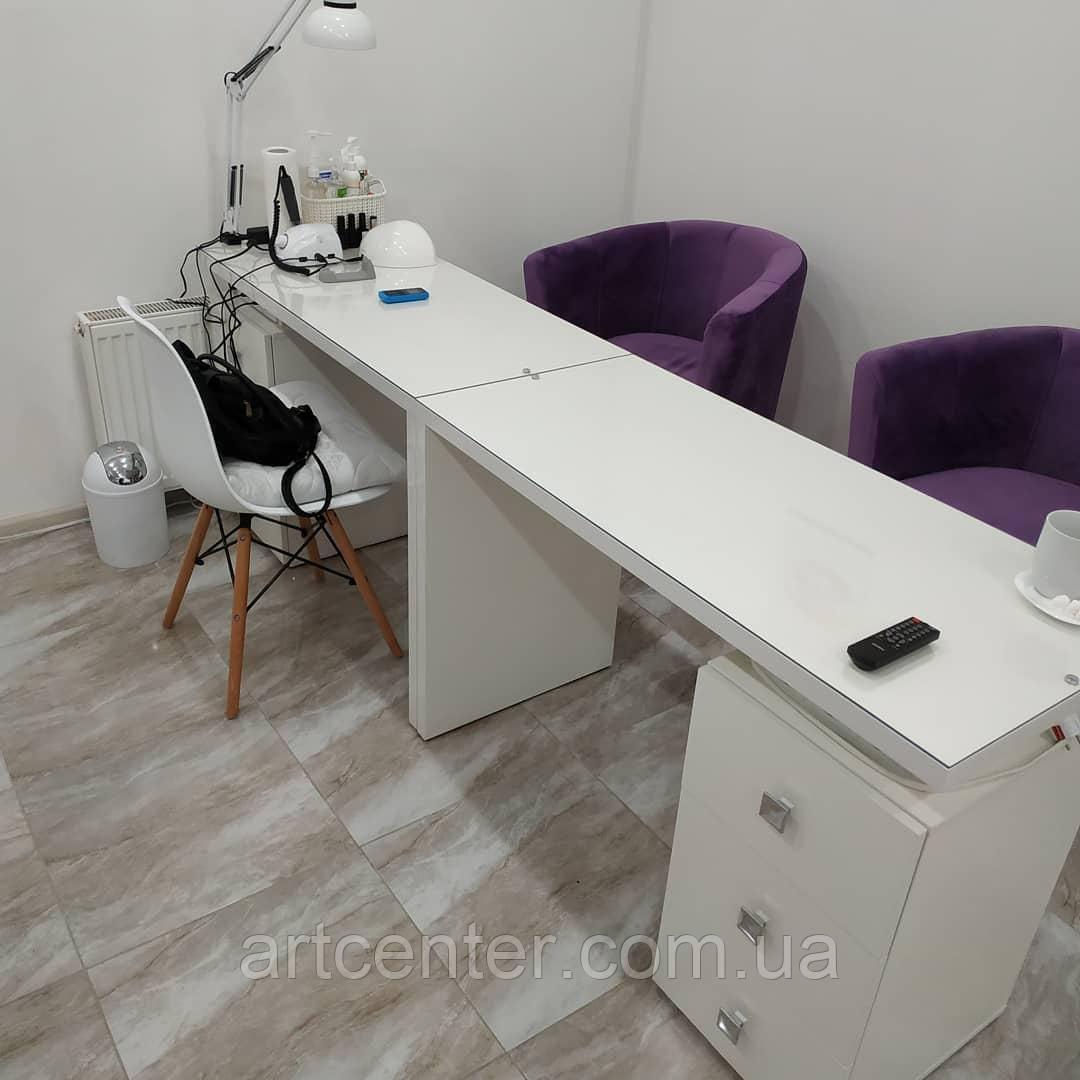 Маникюрный стол для комфортной работы 1 мастера