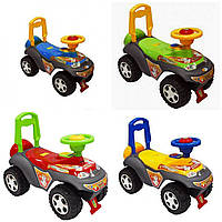Детский толокар машинка-каталка Alexis-Babymix 7600 (детские игрушки-каталки, алексис, бейби, микс)