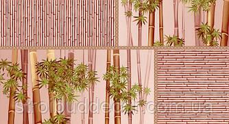 Шпалери паперові мийка Шарм 0,53*10,05 Бамбук кухня, коридор, спальня