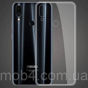 Прозрачный ультратонкий силиконовый чехол для Meizu (Мейзу) note 9