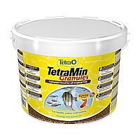 Сухой корм для аквариумных рыб в гранулах TetraMin Granules 10л (для всех аквариумных рыб)