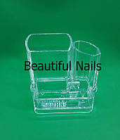 Пластиковый органайзер для макияжных кистей, фото 1