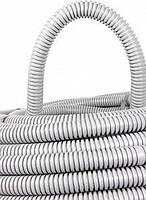 S028004 Труба гофрированная ПВХ с протяжкой  25/32 мм (50м), (Инекст)