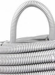 Труба гофрированная ПВХ с протяжкой  25/32 мм (50м), (Инекст)
