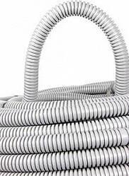Труба гофрированная ПВХ с протяжкой  33/40 мм (50м), (Инекст)