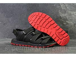 Мужские сандалии Nike, черные (Топ реплика ААА+) 5243, фото 3