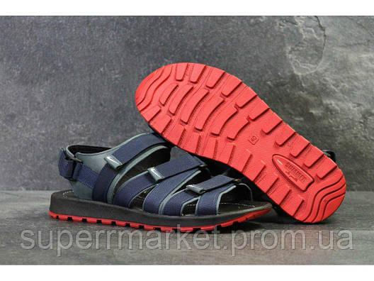 Мужские сандалии Nike, синие  Топ реплика ААА+  5241, фото 2