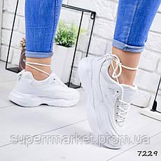 Кроссовки MQ, женские, белые, 7229, фото 3