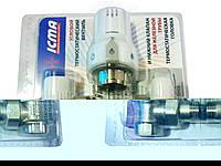 Комплект угловых кранов с терморегулятором для радиаторов отопления 1/2 icma