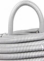 Труба гофрированная ПВХ с протяжкой 40/50 мм (25м), (E.Next)