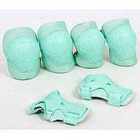 Защита для роликов (наколенники налокотники перчатки) детская SK-4684G