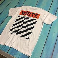 Футболка мужская Off-White , белая футболка