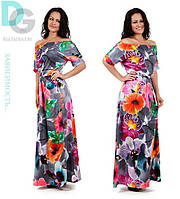 Платье Экзотика